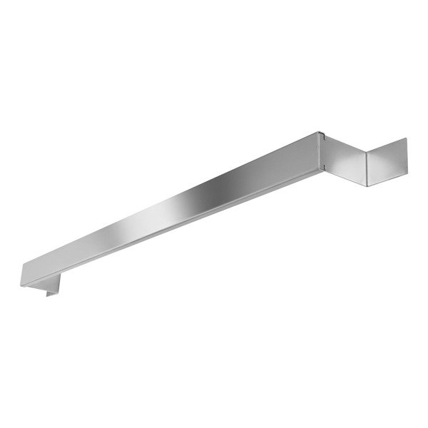 Adjustable rail for towels  to be used with concealed heater Catido Schluter Chrome