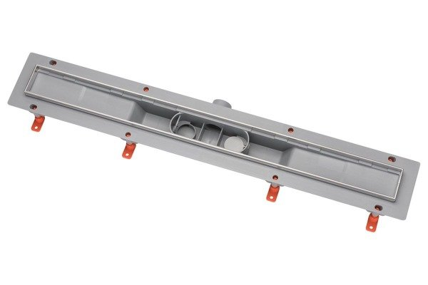 CATIDO DP200 Linear Shower Drain - Rotating Flow Grey Matte