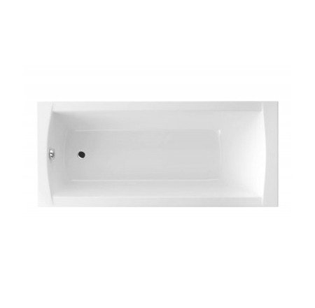 CATIDO Emporia Aquada Rectangular Acrylic Bathtub White