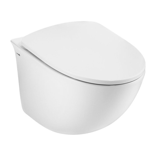 CATIDO MOON 535 Rimless Hanging Toilet Bowl with bidet function SLIM White
