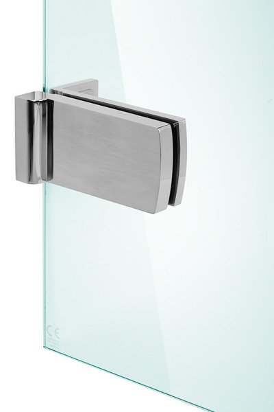CATIDO OPTIMUM Walk-In Internal Clamps Stainless Steel Optiwhite Chrome