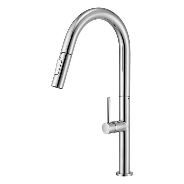 CATIDO Simple TL20 Kitchen Mixer Tap with pull-out spray Chrome