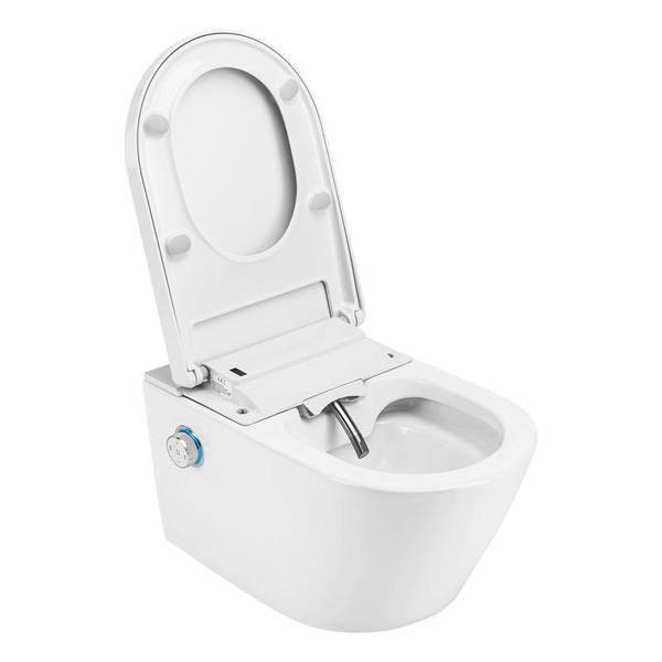 CATIDO TAJFUN CR Rimless Hanging Toilet Bowl with bidet function