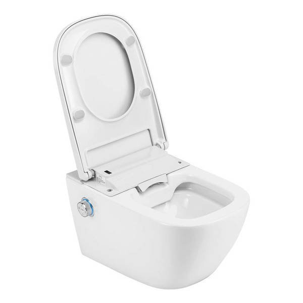 CATIDO TAJFUN CS Rimless Hanging Toilet Bowl with bidet function