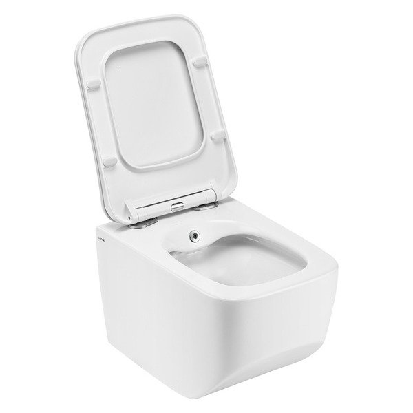 CATIDO VENICE Rimless Hanging Toilet Bowl with bidet function 52 White