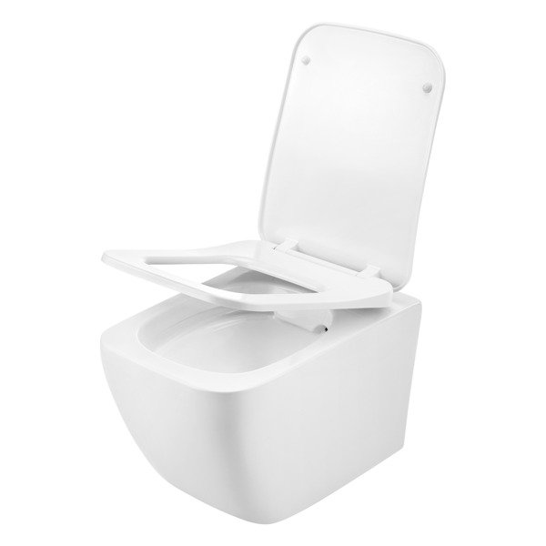 CATIDO VIDI Wall Hung Rimless Toilet Bowl 52 White