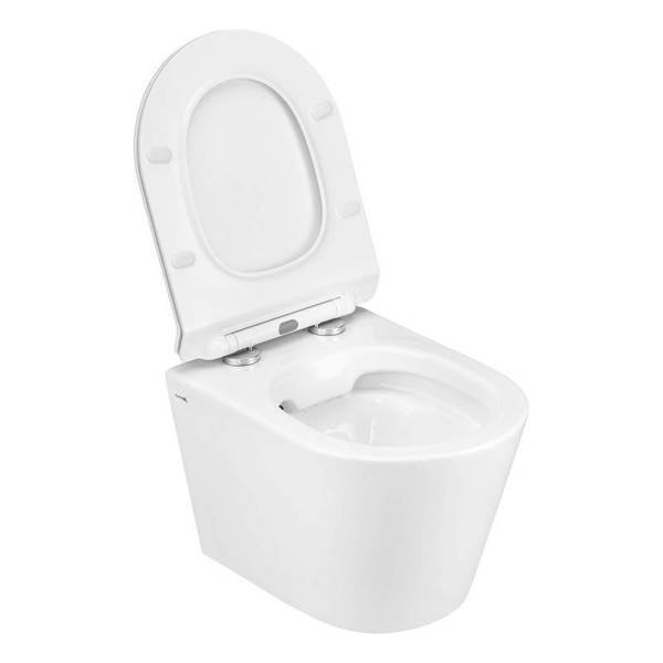 CATIDO Wall Hung Rimless Toilet Bowl Luna Thick White