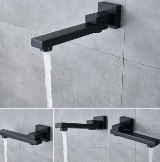 Catido VIDI Cbox PL14 Concealed Bath and Shower set Optimum Black Matte